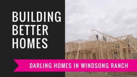 Building A Darling Home - Framing