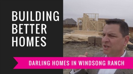 Building A Darling Home - Starting To Frame