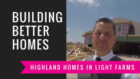 Building A Highland Home in Light Farms | Framing