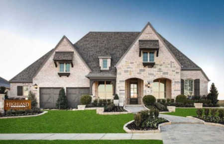 Highland Homes 86s At Star Trail   Prosper Texas