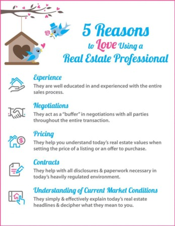 5 Reasons to Love Hiring A Real Estate Pro