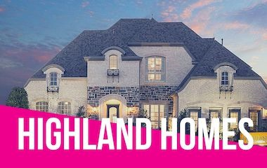 Highland Homes Model | Parkside, Prosper Tx