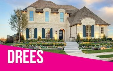 Drees Homes Model | Parkside, Prosper Tx