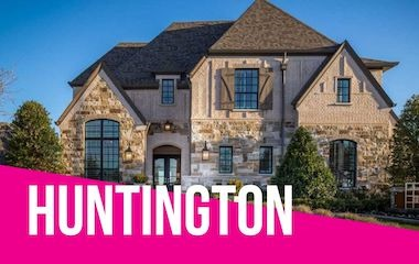 Huntington Homes Model | Parkside, Prosper Tx
