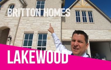 Britton Homes For Sale At Lakewood In Prosper