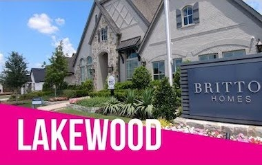Britton Model Home Tour At Lakewood Prosper Tx