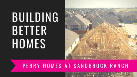 Building A Perry Home In Sandbrock Ranch - Framing