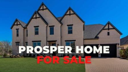 Prosper Tx Home For Sale | Star Trail | 5 Bed | 4.2 Baths | 4,683 SQ FT | 2019 | $850,000