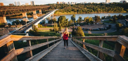 Edmonton's River Valley Trails