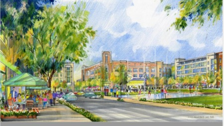 Leander's new downtown project