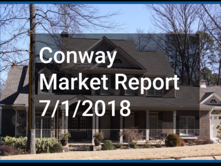 Conway AR Real Estate Market Report 7-1-18