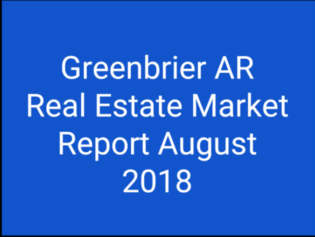 Greenbrier Real Estate Market Report For Aug. 2018