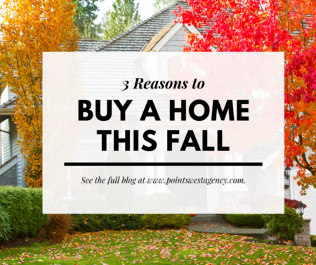3 Reasons to Buy a Home This Fall