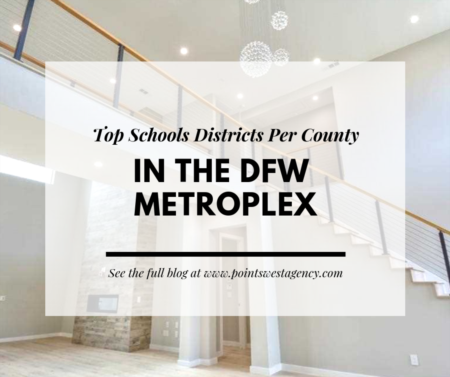 Top School Districts Per County in the DFW Metroplex