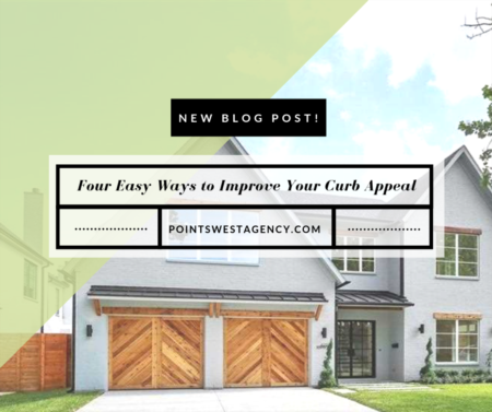 Four Easy Ways to Improve Your Curb Appeal