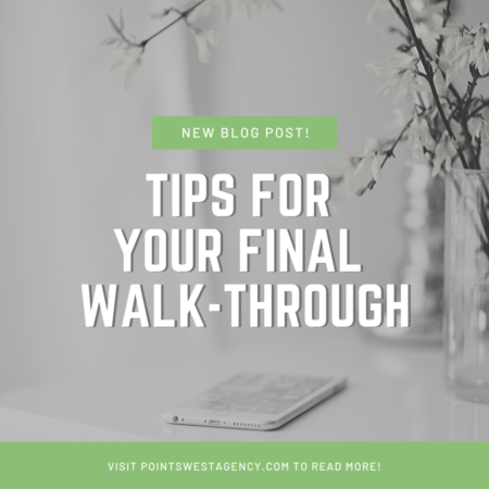 Tips for Your Final Walk-Through