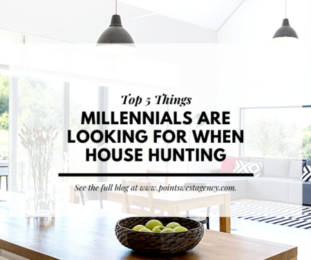 Top Five Things Millennials Are Looking for When House Hunting