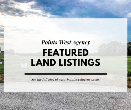 Points West Agency Featured Land Listings - Sept. 2, 2020