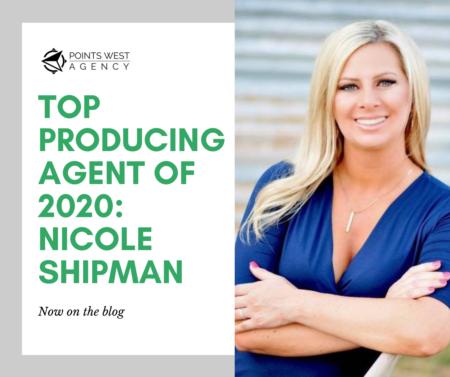 Top Producing Agent of 2020: Nicole Shipman
