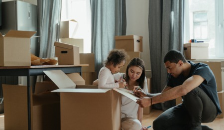 Tips to Make Moving with Kids Easier