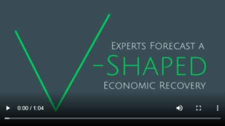 Experts Forecast a V-Shaped Economic Recovery