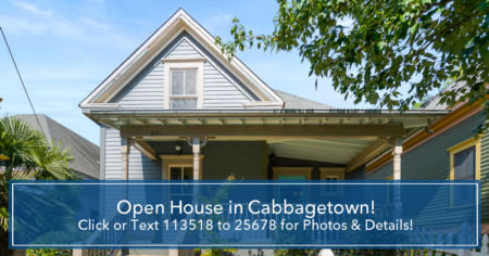 Open House in Cabbagetown
