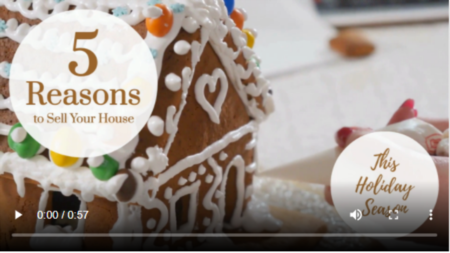 5 Reasons to Sell Your House This Holiday Season