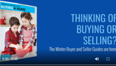 Thinking of Buying or Selling a Home This Winter?