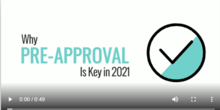 Why Pre-Approval Is Key in 2021