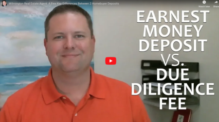 What's the difference between Due Diligence Fee and Earnest Money?