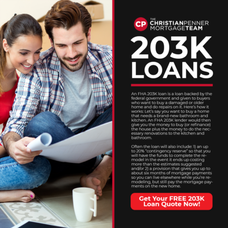 203K Loans of 2019 - The Christian Penner Mortgage Team