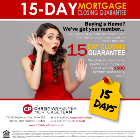 15-Day Closing Guarantee? Really? Yes!