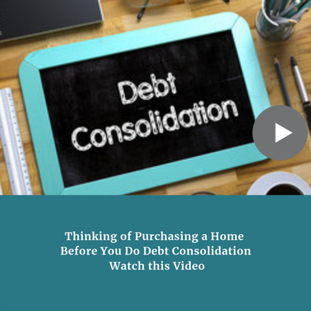 Thinking of Consolidating Credit Cards Before Buying a Home - Stop and Watch