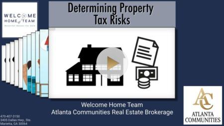 Determining Property Tax Risks