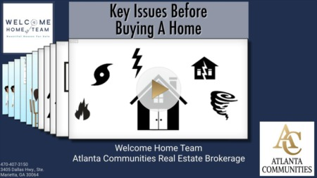 Key Issues Before Buying A Home