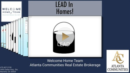 Lead Based Paint in Homes!