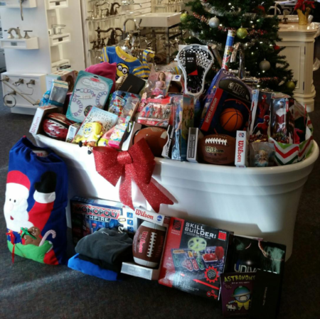 CRG Team Donates to Local Women's Group
