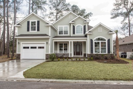 Contemporary Custom Home Designed and Built in Pawleys Plantation