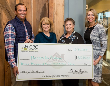 CRG Home Harvest Benefits Heroes For Children of Horry County
