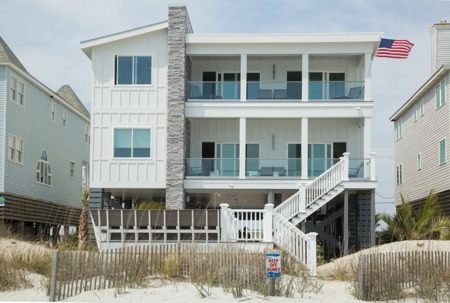 Garden City Beach Modern Oceanfront Vacation Rental