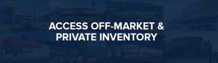 November off market inventory (MLS Exclusion)