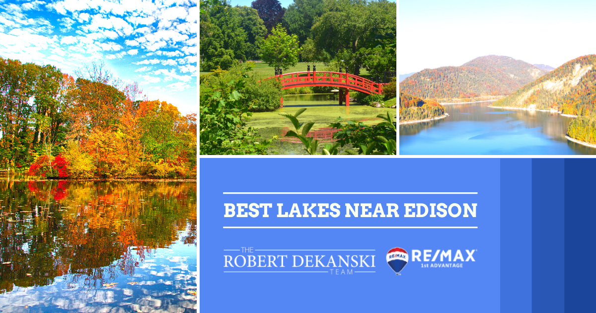 Best Lakes in Edison