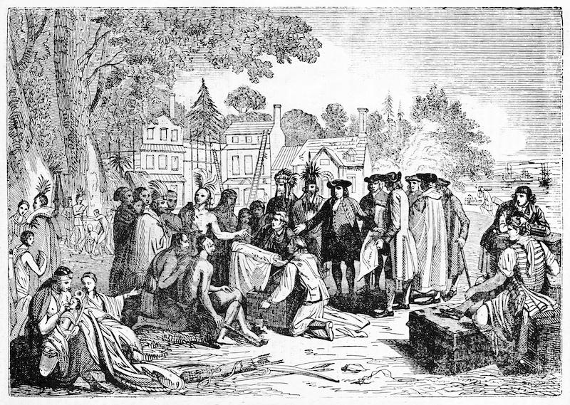 The Lenape Native Americans First Settled Edison, NJ