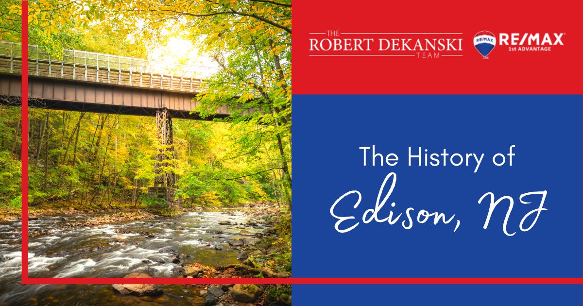 Edison, NJ History