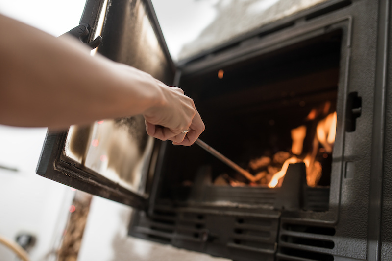 Safely Using Fire Place