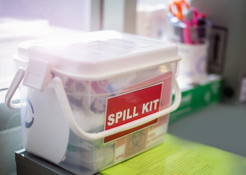 Spill Kit for Mercury Safety