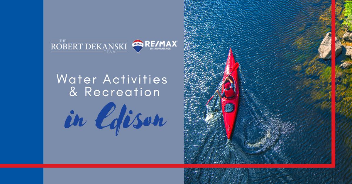 Best Water Activities in Edison