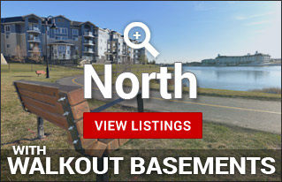 Walkout Homes for sale in North Calgary