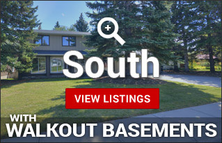 Walkout Homes for sale in South Calgary