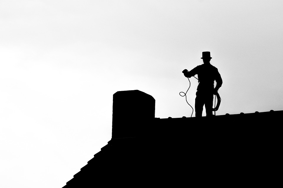 chimney sweep roof
